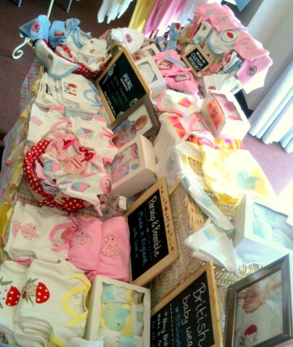 handmade British Royal baby onesie