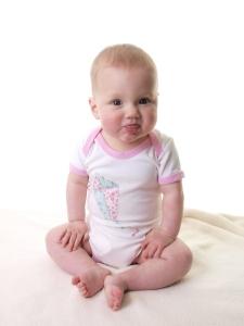 British baby onesie applique kite girl