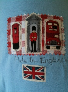 Made In England British baby onesie