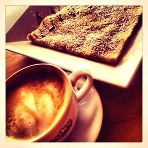 Pancake Corner Chorlton cappucino