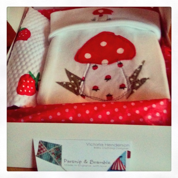 new baby gift set baby shower British handmade England
