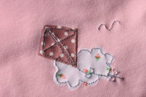 Kite applique