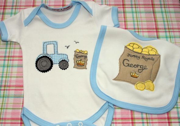 Jersey potatoes Royal baby George