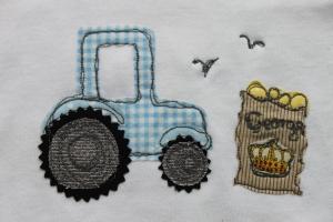 handmade tractor baby British