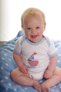 Photoshoot baby boat onesie