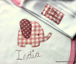 personalised British baby gifts made in England