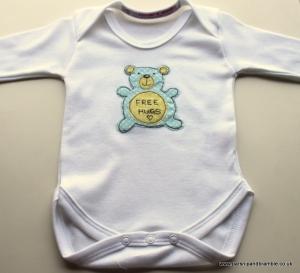 Parsnip & Bramble baby onesie