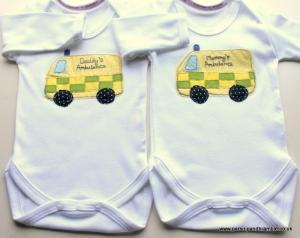 Parsnip & Bramble British baby onesies