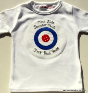 Parsnip and Bramble handmade British applique baby kids tshirts