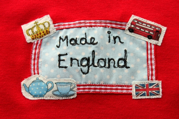 Parsnip and Bramble British applique