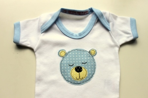 Parsnip and Bramble British baby onesie